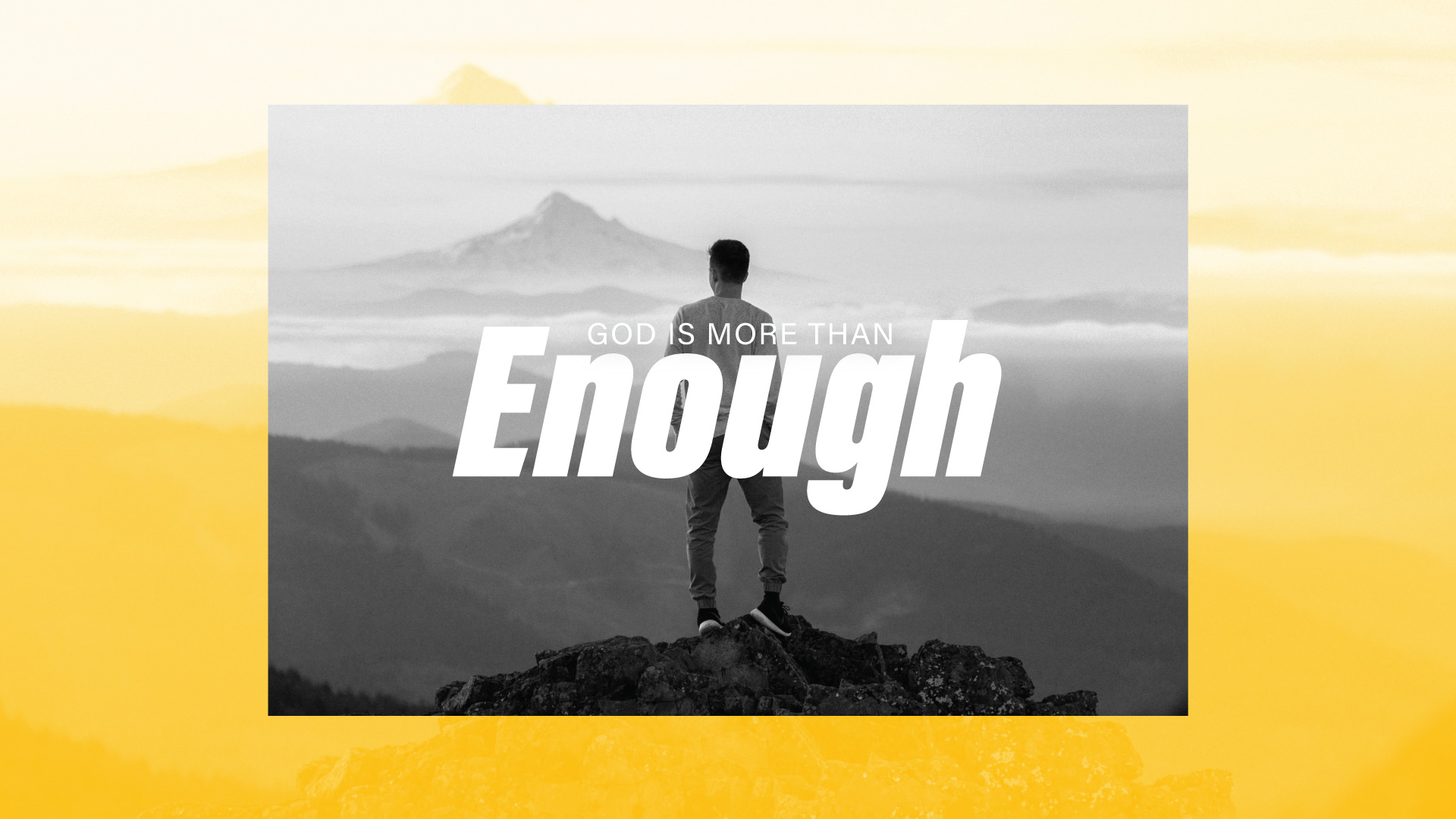 New Sermon Series: Enough