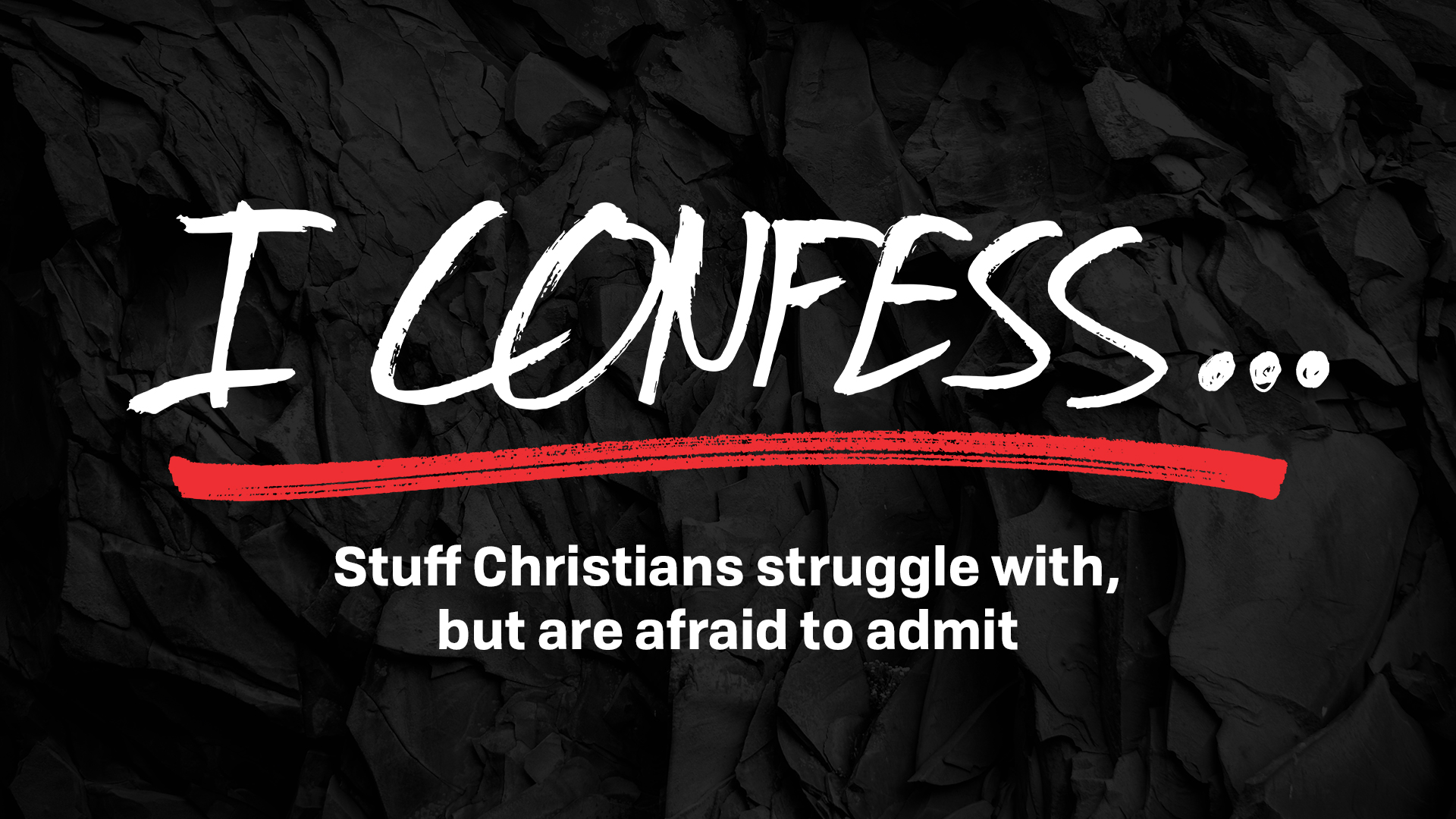 I Confess Sermon Series